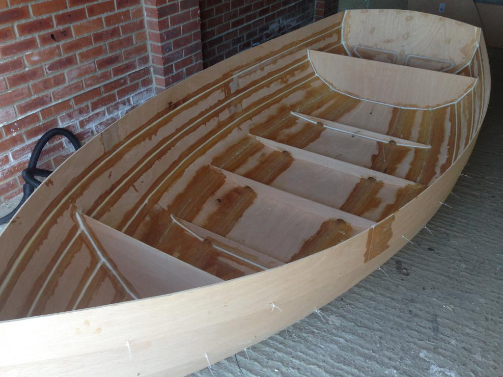 Лодка из фанеры своими руками чертежи