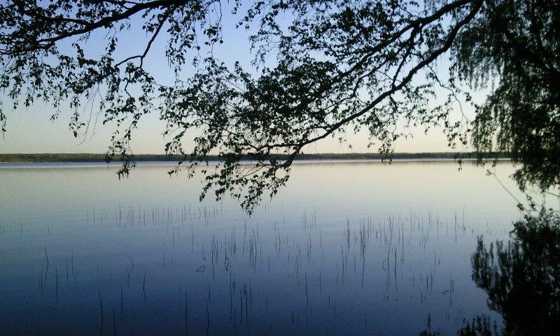 Весна на озере Лубенское.