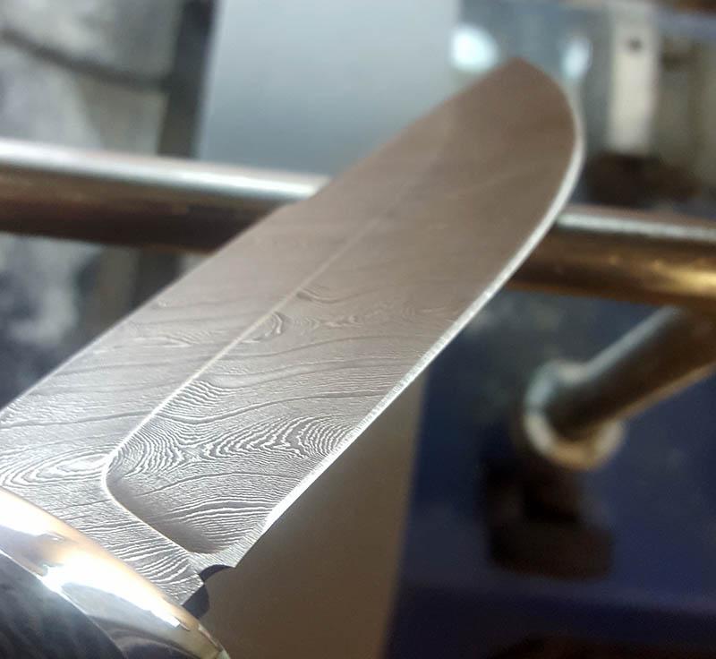 Дамасская сталь.
