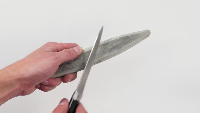 Заточка ножа.