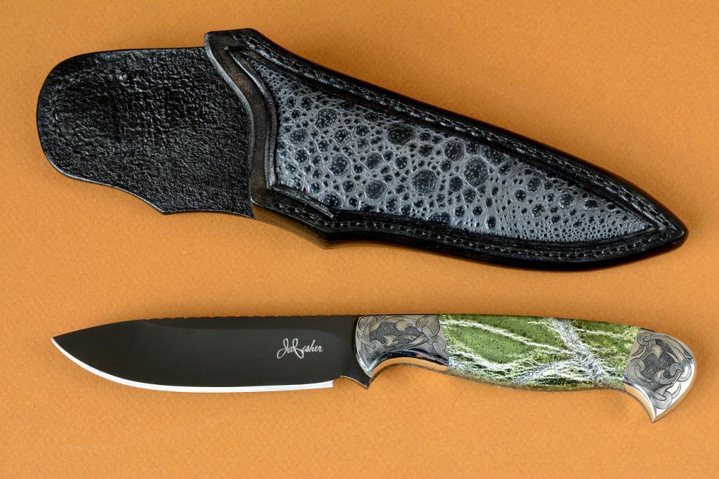 Как воронить нож в домашних условиях