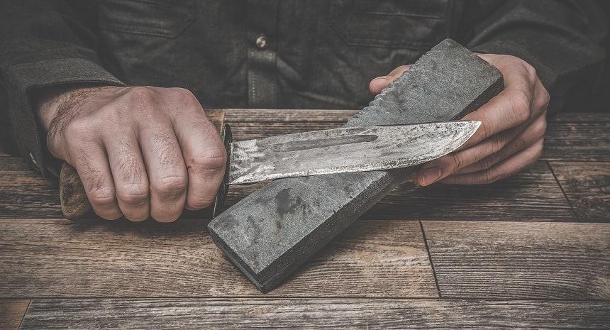 Угол заточки охотничьего ножа для ошкуривания