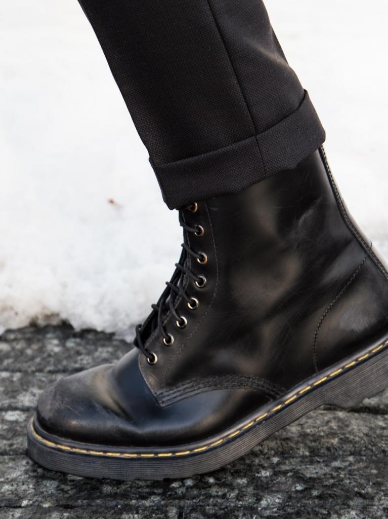 Настоящие ботинки